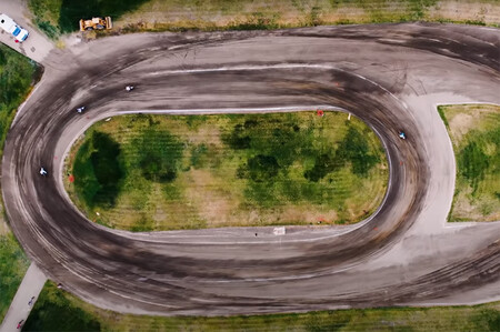 Jonhy Lewis Flat Track Video
