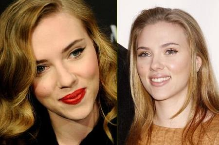 Scarlett Johansson, ¿mejor con maquillaje natural o sofisticado?