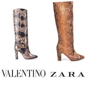Estas botas de Zara ... ya las he visto antes