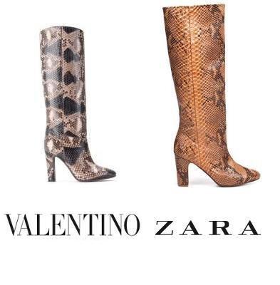 botas valentino zara