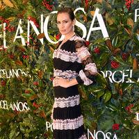 Nieves Álvarez demuestra (una vez más) en la fiesta Porcelanosa por qué es una de las más elegantes de nuestro país