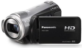 Videocámaras Panasonic HDC-HS9 y HDC-SD9 [CES 2008]