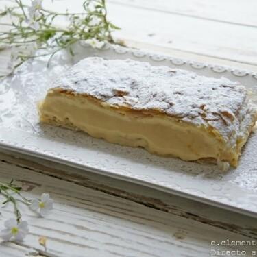 Milhojas de vainilla: receta fácil de un postre clásico de las pastelerías