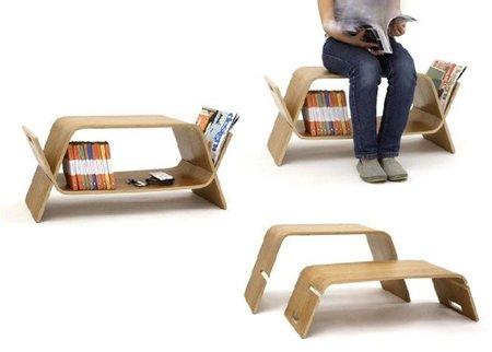 Embrace, mesa y asiento multiposición