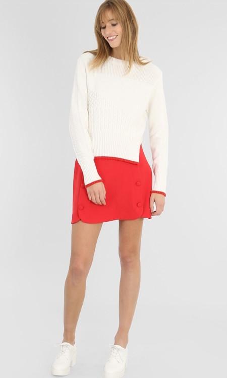 Minifalda Roja Pimkie