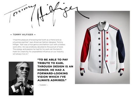 Siete Artistas Reinventaran La Iconica Y Elegante Camisa Blanca En Honor A Karl Lagerfeld 01