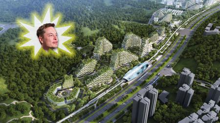 Elon Musk dará luz a toda una megalópolis con el brillo de sus ideas