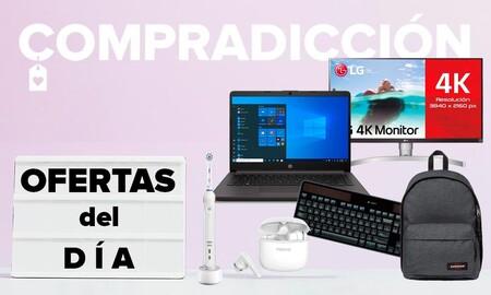 Ofertas del día en Amazon: portátiles Apple y HP, trípodes de carbono Manfrotto, monitores LG o cargadores Belkin a precios rebajados