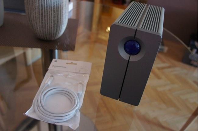 LaCie 2big disk, conectividad Thunderbolt