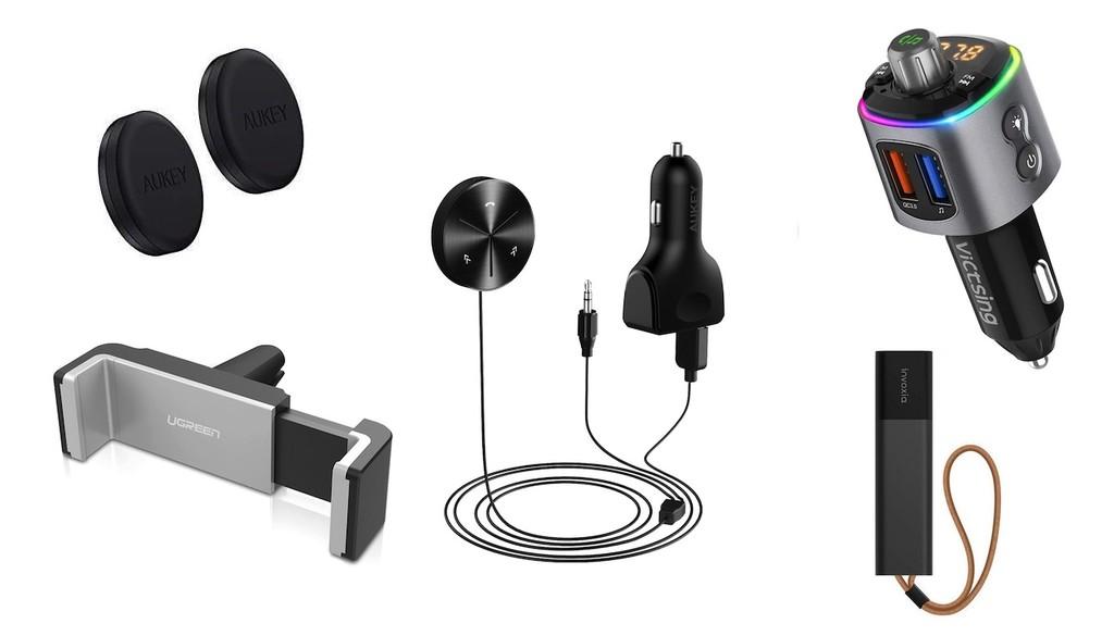 Los gadgets y accesorios tecnológicos para el coche (y moto) de los editores de Xataka: soportes, transmisores, radios y más