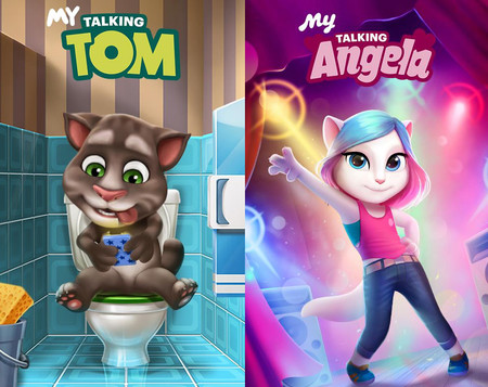 Mi Talking Tom Angela