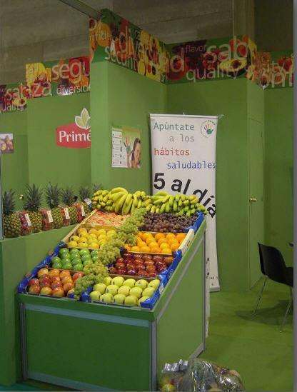 Comer cinco raciones de frutas y verduras al día es bueno para la salud