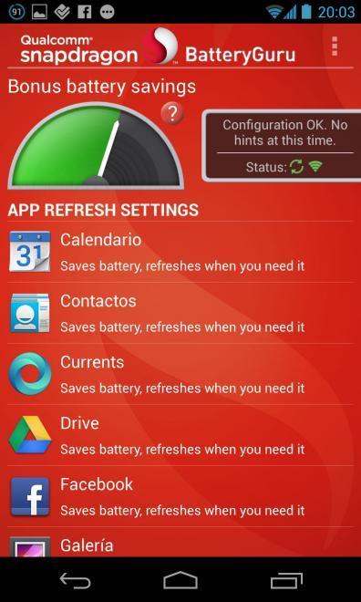 ahorrar bateria, aplicaciones en segundo plano android