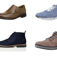 Chollos en tallas sueltas de zapatos y botines Clarks y Geox por menos de 40 euros en Amazon