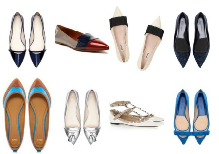 zapatos punta