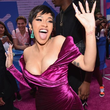 MTV Video Music Awards 2018: Cardi B aparece (espectacular) tras su embarazo