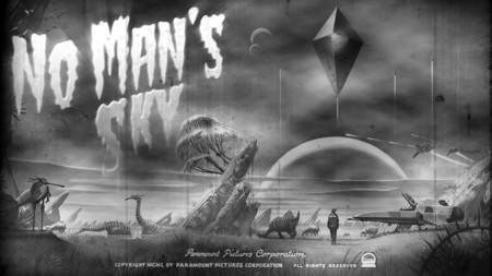 Así sería No Man's Sky si fuera una película de los años 50