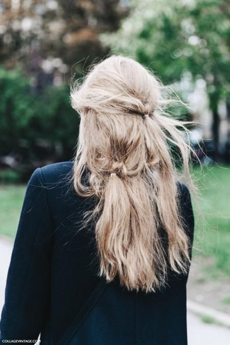 Pfw Paris Fashion Week Spring Summer 2016 Street Style Say Cheese Valentino Spring Summer 2016 Hairstyle 790x1185