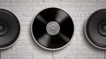 Wheel es probablemente el tocadiscos más minimalista que habrás visto