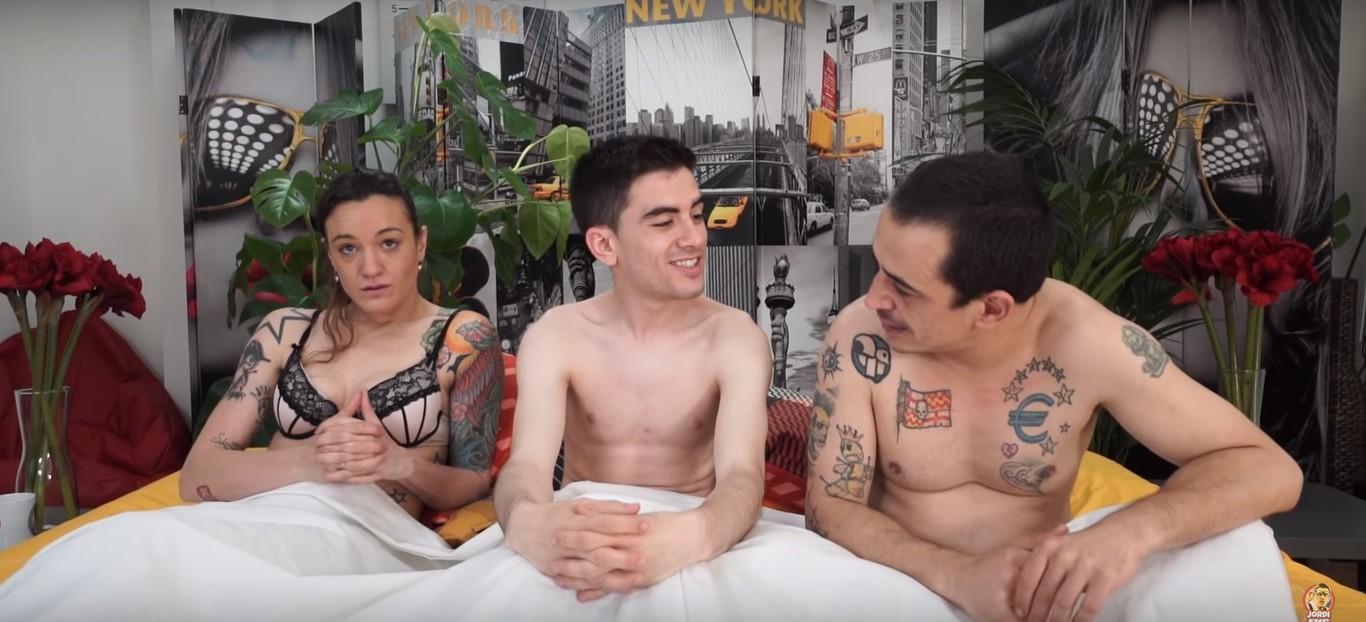 El Vídeo De Jordi Enp Con Silvia Charro Y Simón Pérez No Es El Que