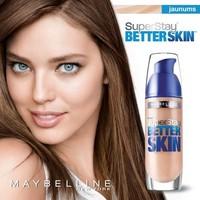 SuperStay 16H Better Skin de Maybelline, el nuevo maquillaje que también mejora la piel, ¿quién da más?