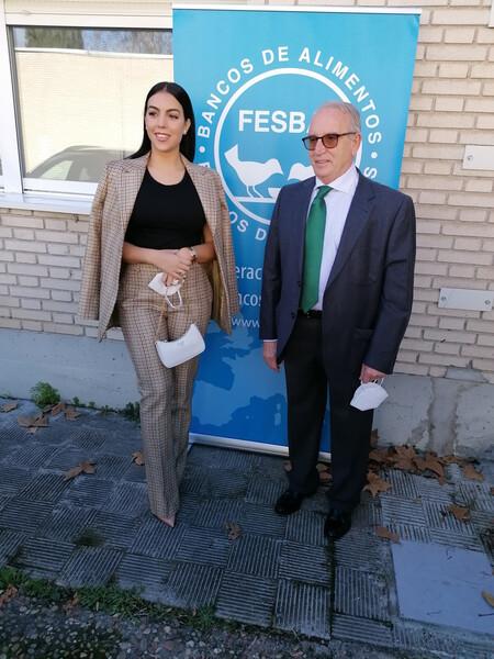 georgina rodriguez look traje chaqueta