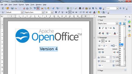Sin hacer mucho ruido llega Apache OpenOffice 4.0