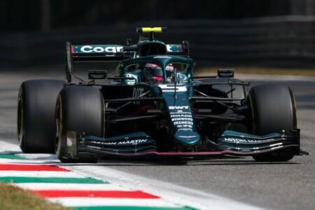 Vettel Italy F1 2021 2