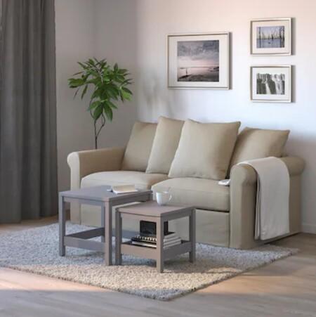 Sofá cama de dos plazas de Ikea