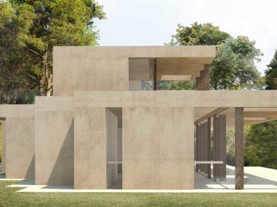 Casa en La Pinada, una casa situada entre pinos que se funde con el entorno
