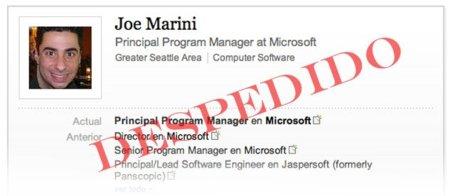 Joe Marini fuera de Microsoft por hablar más de la cuenta sobre teléfonos Nokia