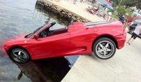 Dolorpasión™: El Ferrari 360 Spider que quiso ser David Meca