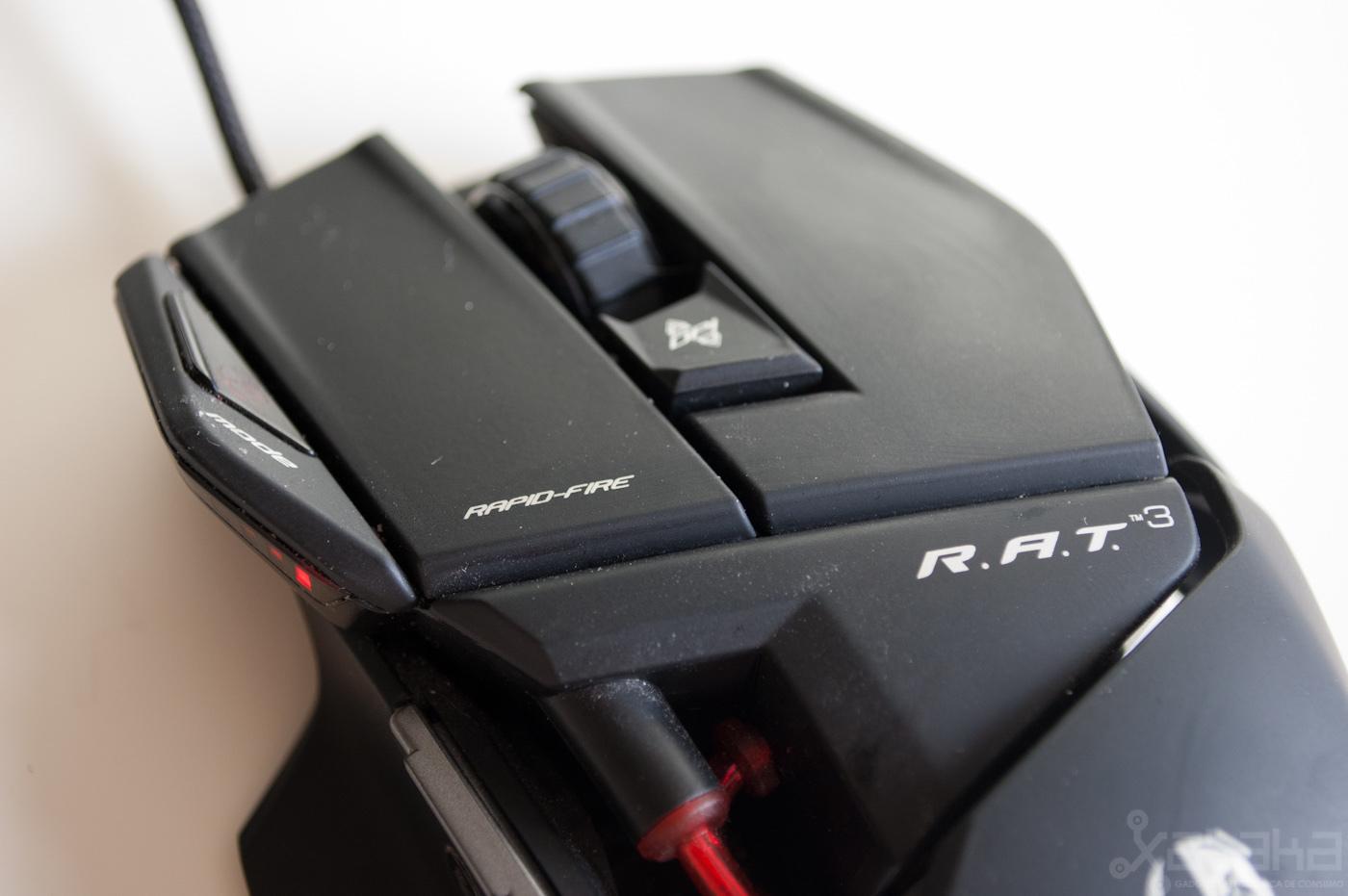 Foto de Mad Catz Cyborg RAT3, análisis (15/19)