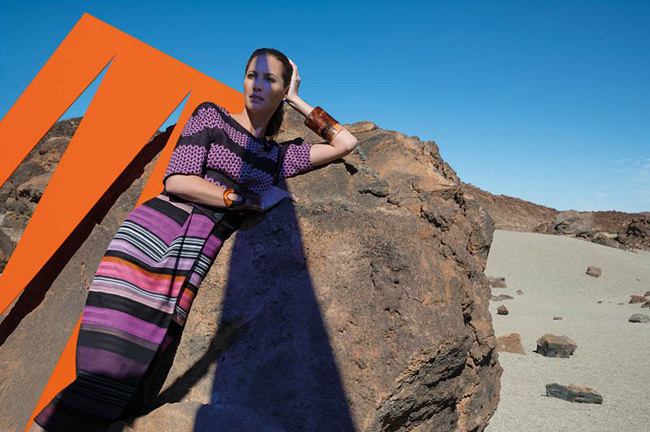 Foto de Missoni Primavera-Verano 2014 con Christy Turlington (3/9)