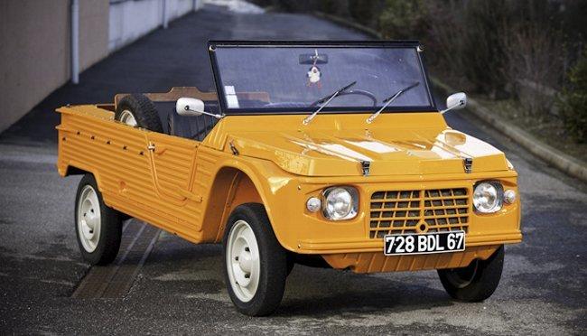 Citroën Mehari naranja
