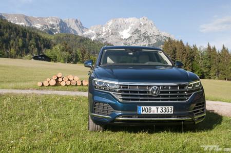 Volkswagen Touareg 2018, a prueba