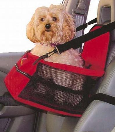 Silla de coche para tu mascota