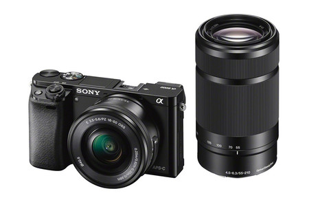 Sony A6000 Doble Optica