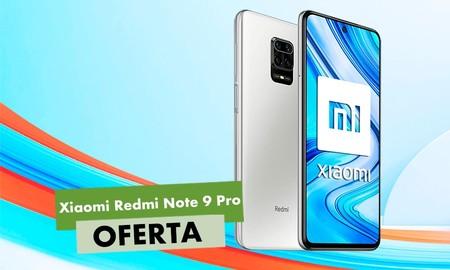 Más barato todavía: el Xiaomi Redmi Note 9 Pro, con el cupón PQ3020 de eBay se queda en esta oferta por sólo 206,10 euros