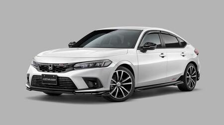 ¡Que empiece el tuning! El nuevo Honda Civic 2022 ya presume nuevo body kit  fabricado por Mugen