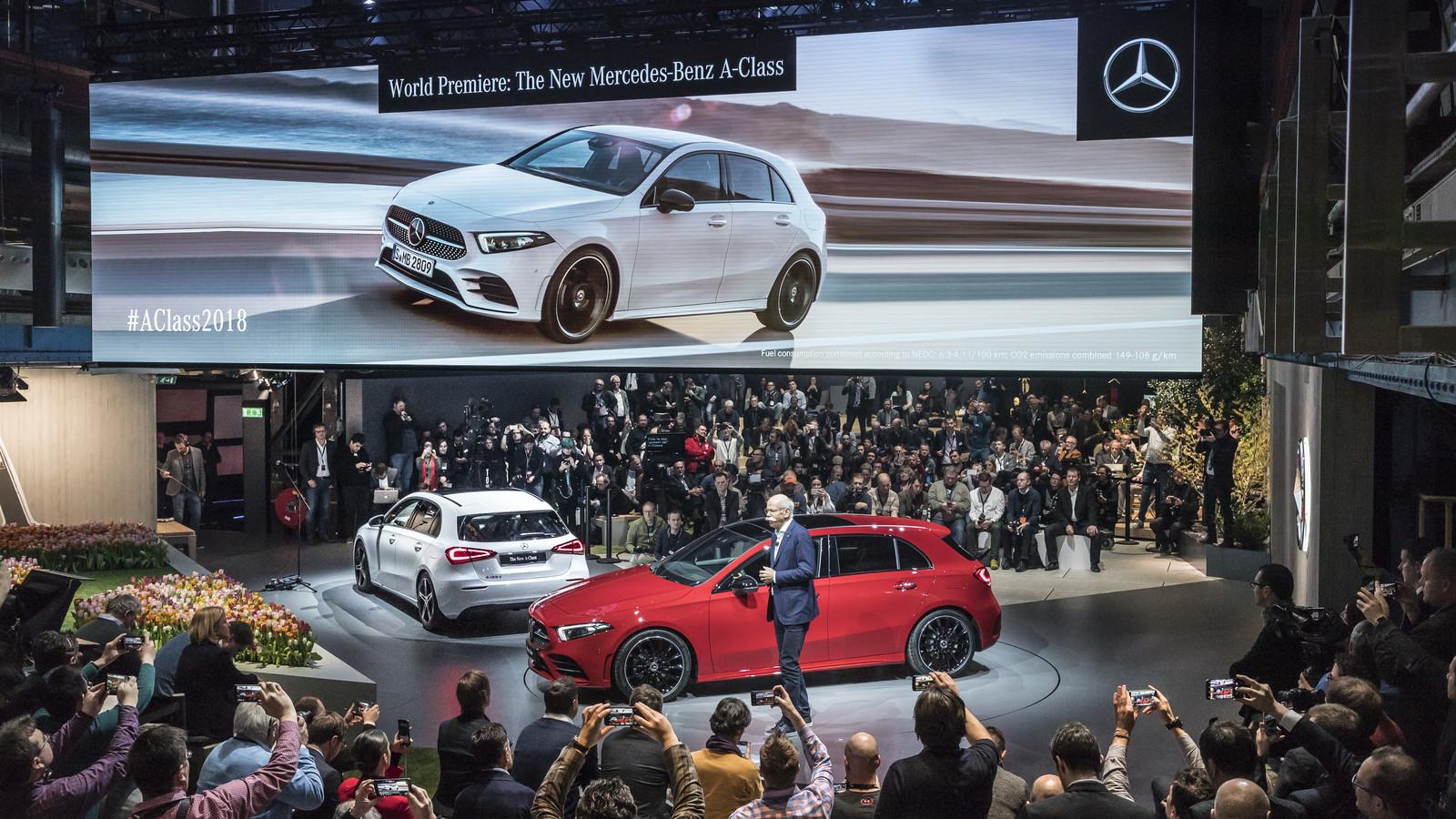 Foto de Mercedes-Benz Clase A 2018 - presentación (32/114)