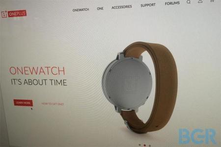 OneWatch, se filtran imágenes del reloj inteligente de OnePlus