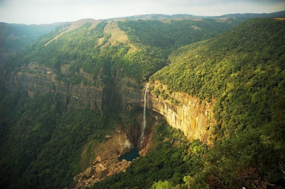 Nohkalikai Falls, Cherrapunjee