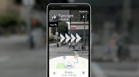 """La realidad aumentada llega a Maps: señalamientos en tiempo real y """"compañeros"""" para nuestros recorridos"""