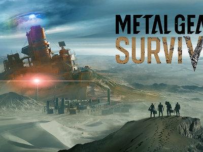 La beta abierta de Metal Gear Survive ya está disponible en PS4 y Xbox One
