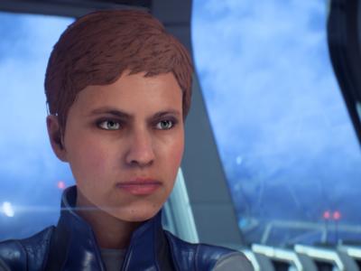 Así han mejorado los ojos de los personajes de Mass Effect: Andromeda tras su último parche