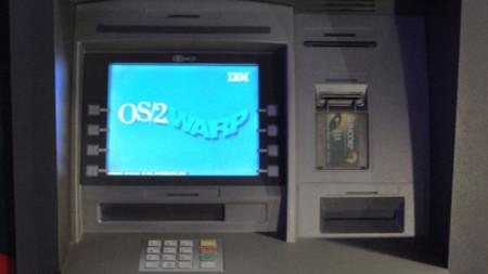 Cajero automático con OS/2 Warp