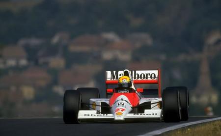 Ayrton Senna GP Hungría 1990