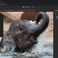 Photoshop llega en forma de página web: Adobe crea una versión más sencilla con colaboración en la nube al estilo Google Docs