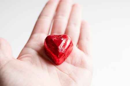 Chocolate en San Valentín